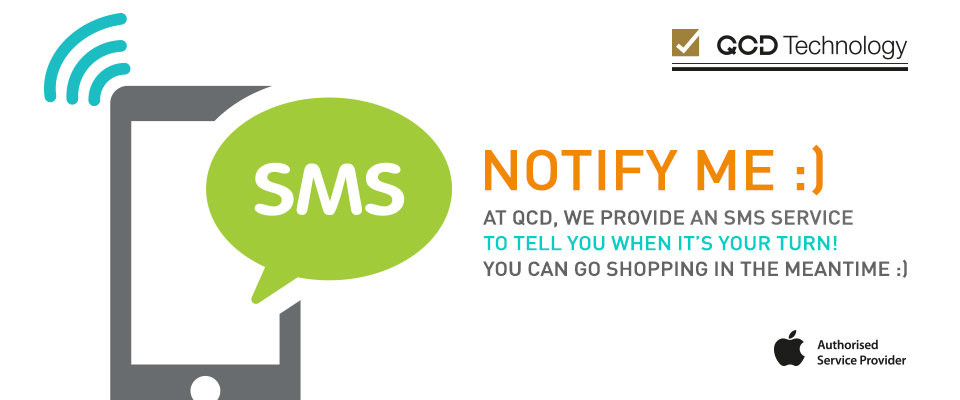 Sms service. No waiting